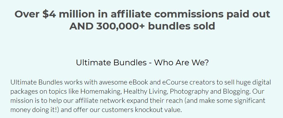 Ultimate Bundles affiliate