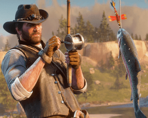 RDR2 Fishing
