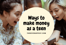 Ways to make money as teen