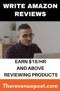 Write amazon reviews